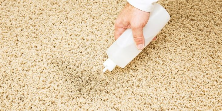 cleaning water stains on your carpet