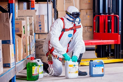 bio hazard protective equipment in Missoula home