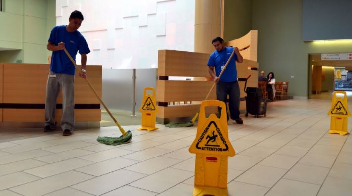 characteristics that define janitorial services