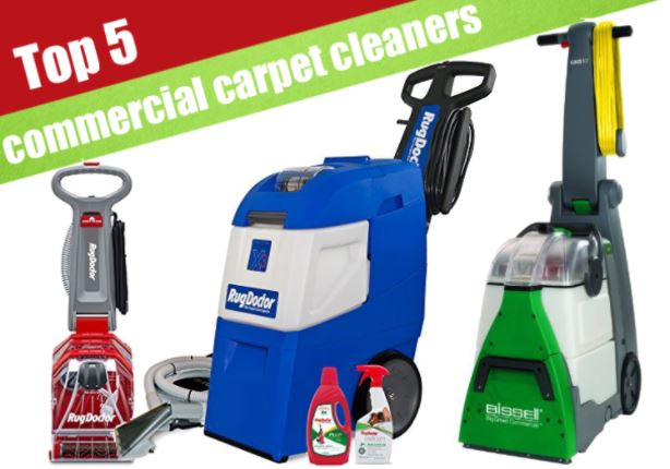 best 3 commercial carpet cleaners